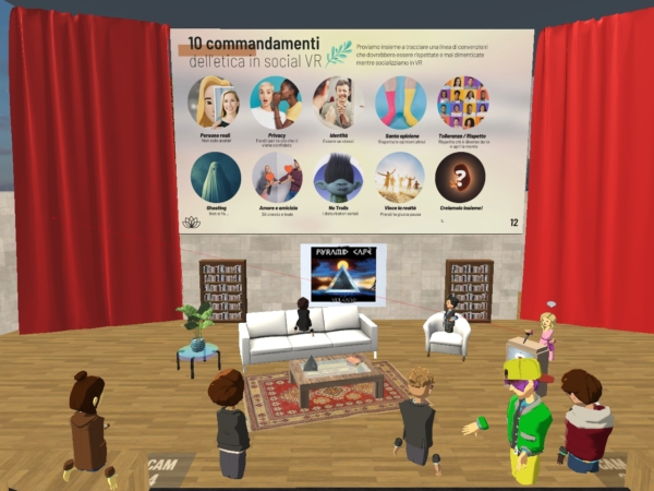 evento in Altspace VR